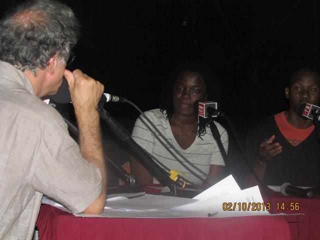 Enregistrement de l'émission avec Yvan Amar