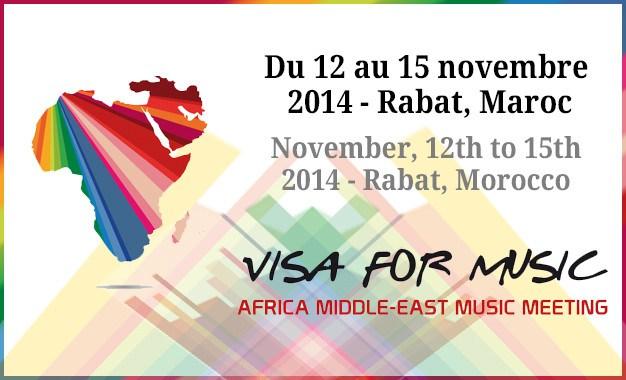 Visa For Music Flyer