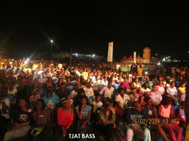 Une vue du public au concert de Zaho