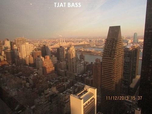 Une vue de Manhattan