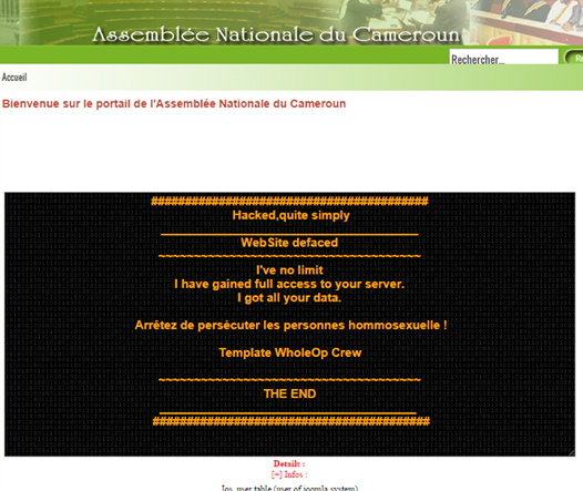 screenshot-site-web-assemblee-nationale-cameroun